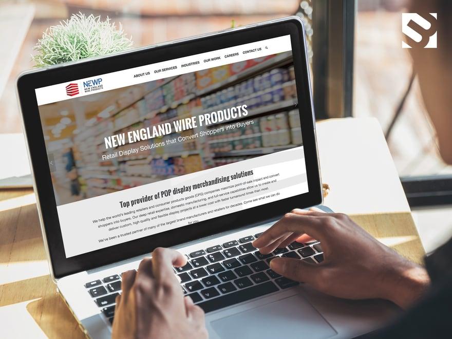 Red Javelin Website Design